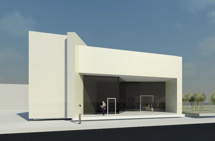 Llanes arquitectos banco universidad for Arquitecto universidad