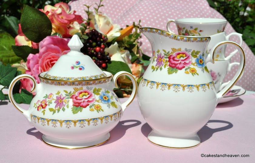 Royal Grafton Malvern Milk Jug and Lidded Sugar Bowl