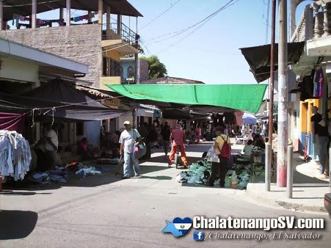 Martes, comercio en Chalatenango
