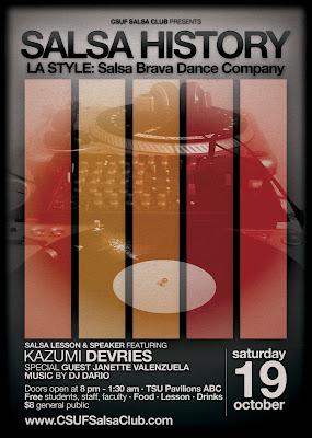 Salsa History: Salsa Brava Dance Company