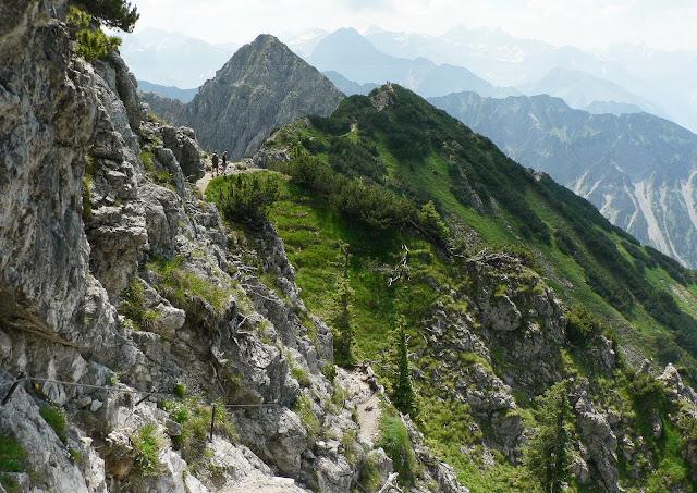 Blick zum Nebelhorn