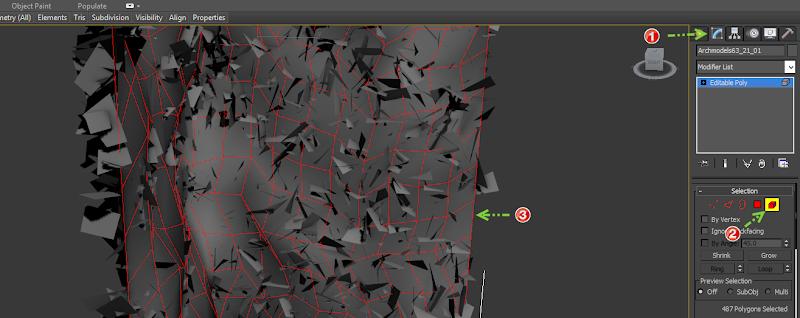 ขอถามเกี่ยวกับการเรนเดอร์ vray v .2 ครับ   ติีกที่ Use color texture as transparency  ขอบไม่หายครับ  3dprox2su01