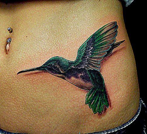 55 Amazing Hummingbird Tattoo Designs « Cuded – Showcase of Art