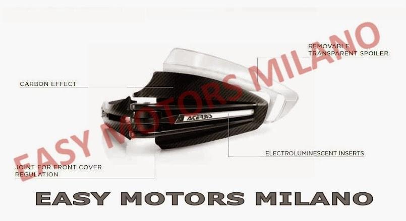 ACERBIS PARAMANI X-TARMAC NERO MOTO NAKED MOTARD ENDURO HONDA TRANSALP 700 06//12