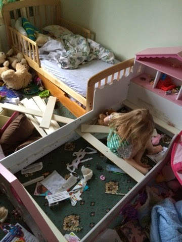 How Long Does It Take a 3 Year Old To Dismantle a Bed? Maegan Darcie Clement