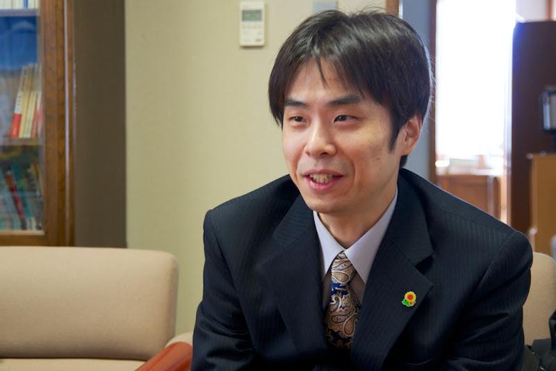 中井啓介さん(40歳)
