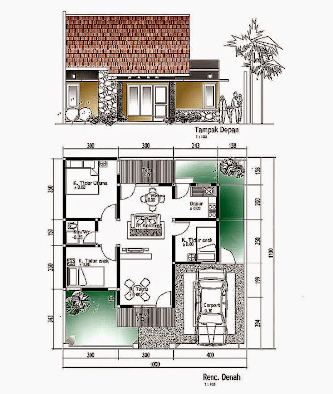 Contoh Desain Rumah Arsitek