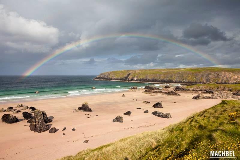 Playa de Durness, Escocia, otra de las maravillas naturales del mundo