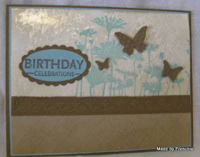 Stampin'Up! Upsy Daisy, Mother of Pearl.