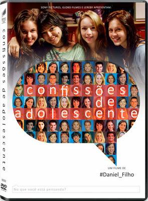 Filme Poster Confissões de Adolescente DVDRip XviD & RMVB Nacional