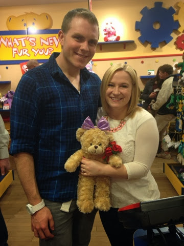 valentines day date night idea buildabear build a bear create a bear dating your husband brooklyn jolley a little too jolley