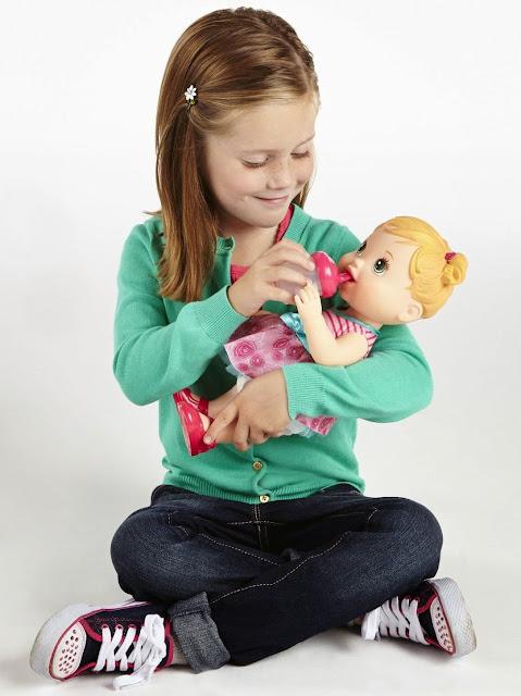 Búp bê Baby Alive Chăm sóc bé cưng - A5390 có thể uống nước từ bình