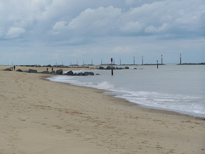 Sea Palling reefs - defences constructed in 1995