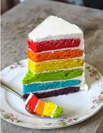 Torta de cumpleaños para una fiesta de niños
