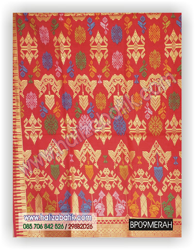 BP09%2BMERAH Gambar Batik Pekalongan, Batik Modern, Jual Batik Online, BP09 MERAH