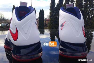 nike lebron 10 pe usa basketball 3 04 PE Spotlight: Nike LeBron X USA Basketball Red Swoosh