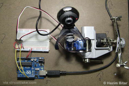 Arduino and OpenCV - Face Tracking System