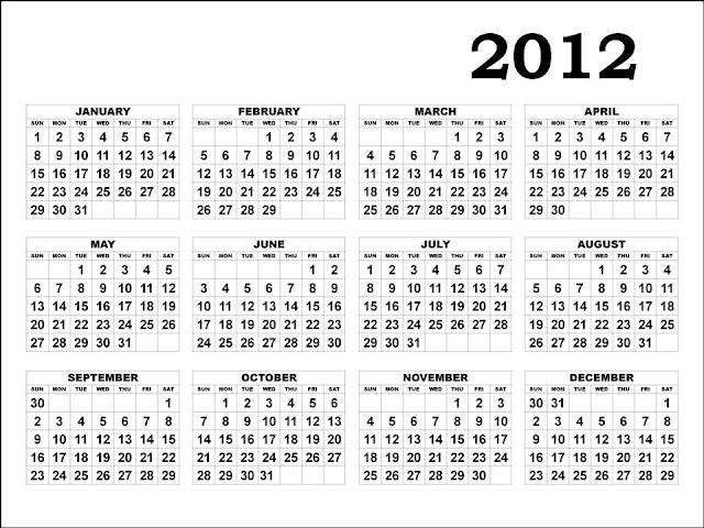 calendar 2012 printable. Calendar+2012+printable