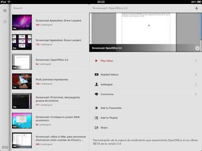 Olvídate de la aplicación oficial de YouTube y descarga Jasmine en su lugar (iOS)