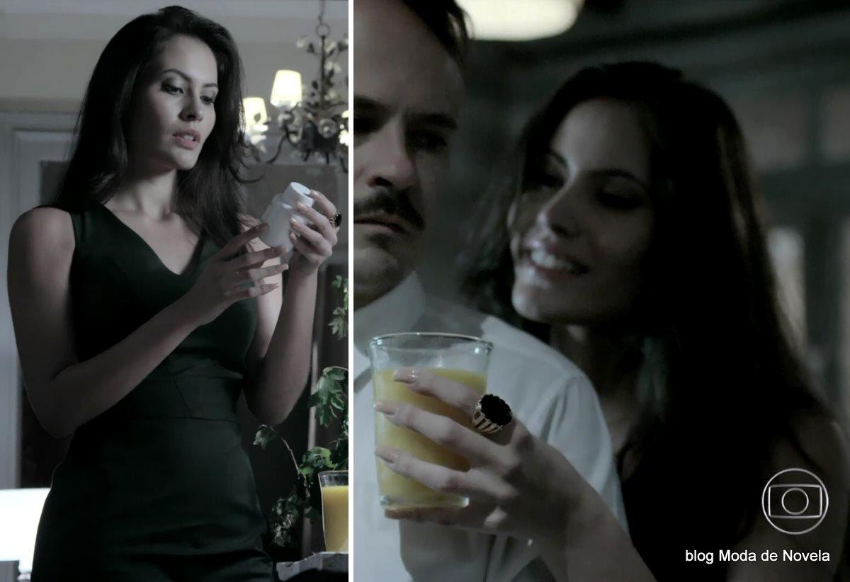 moda da novela Império, look da Carmen dia 21 de janeiro de 2015