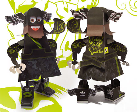 Samoking Paper Toy