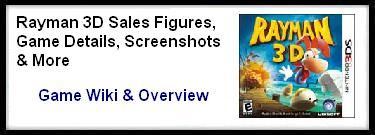 Rayman 3D Sales Figures and Screenshots