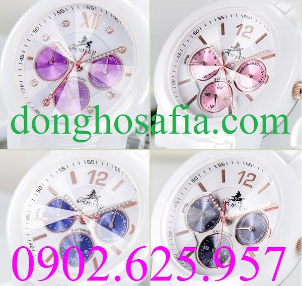 Đồng hồ nữ Awsky AW018