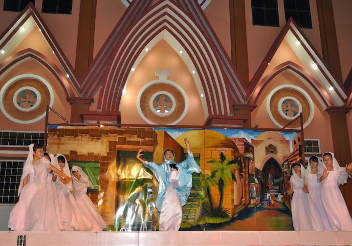 Đại lễ Giáng sinh tại Giáo xứ Cầu Bảo