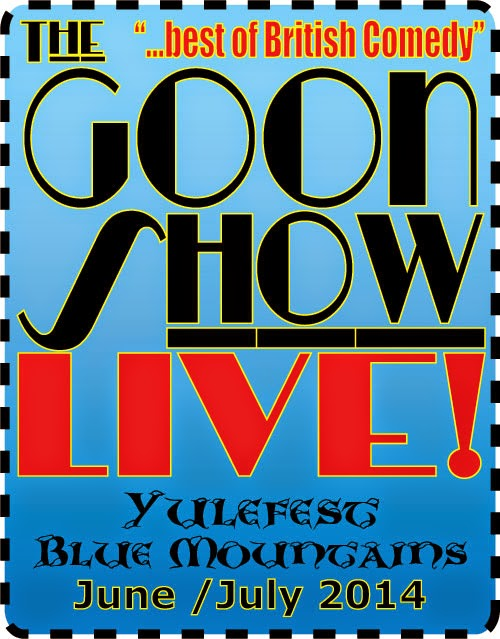 The Goon Show LIVE! dinner and show for Yulefest Blue Mountains 2013