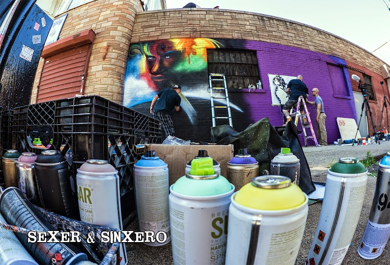 Sexer and SinXero Bronx Street Art