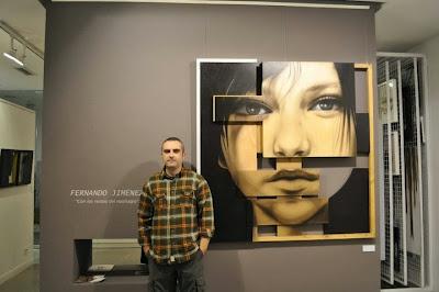 Exposicion de Fernando Jimenez,Con los restos del naufragio