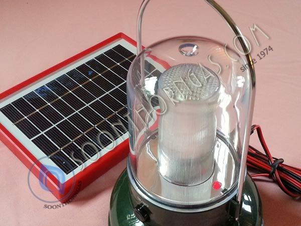 หลอดไฟ LED ตะเกียงโซล่าเซลล์