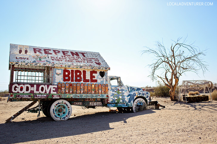 Salvation Mountain California (Strange Roadside Attractions).