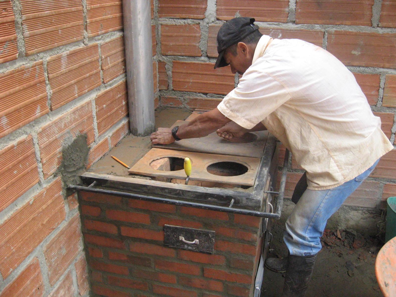 Ituango energia de colombia comenzamos la construccion de - Como hacer una cocina de lena ...