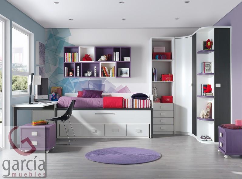 dormitorio muebles modernos habitaciones juveniles asturias