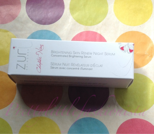 Zuri Brightening Skin Renew Night Serum