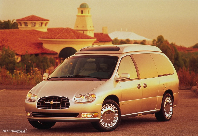 Chrysler pacifica (1999 concept vehicle)