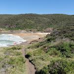 Walking towards Snapper Point beach (247690)
