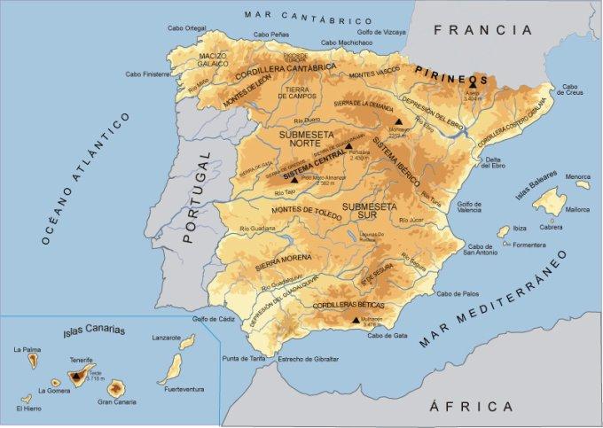 culturambo Mapas fsicos