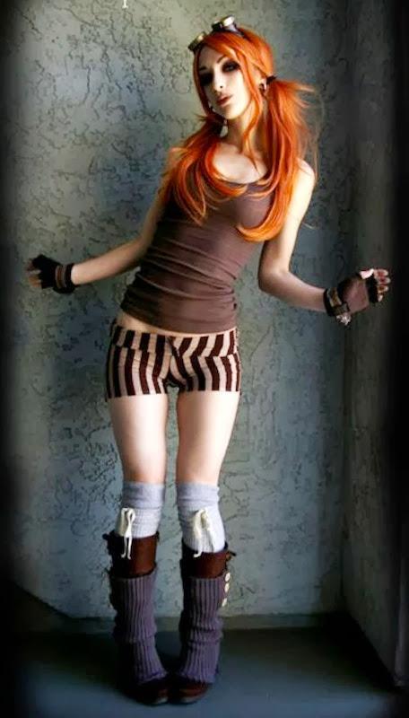 Sexy Steampunk Girl 29
