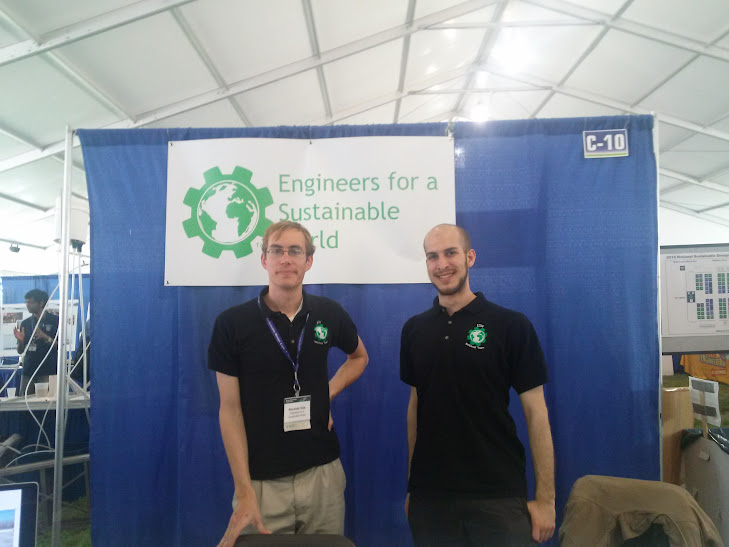 Alex Dale and Alex Devaux representing ESW National at NSDE