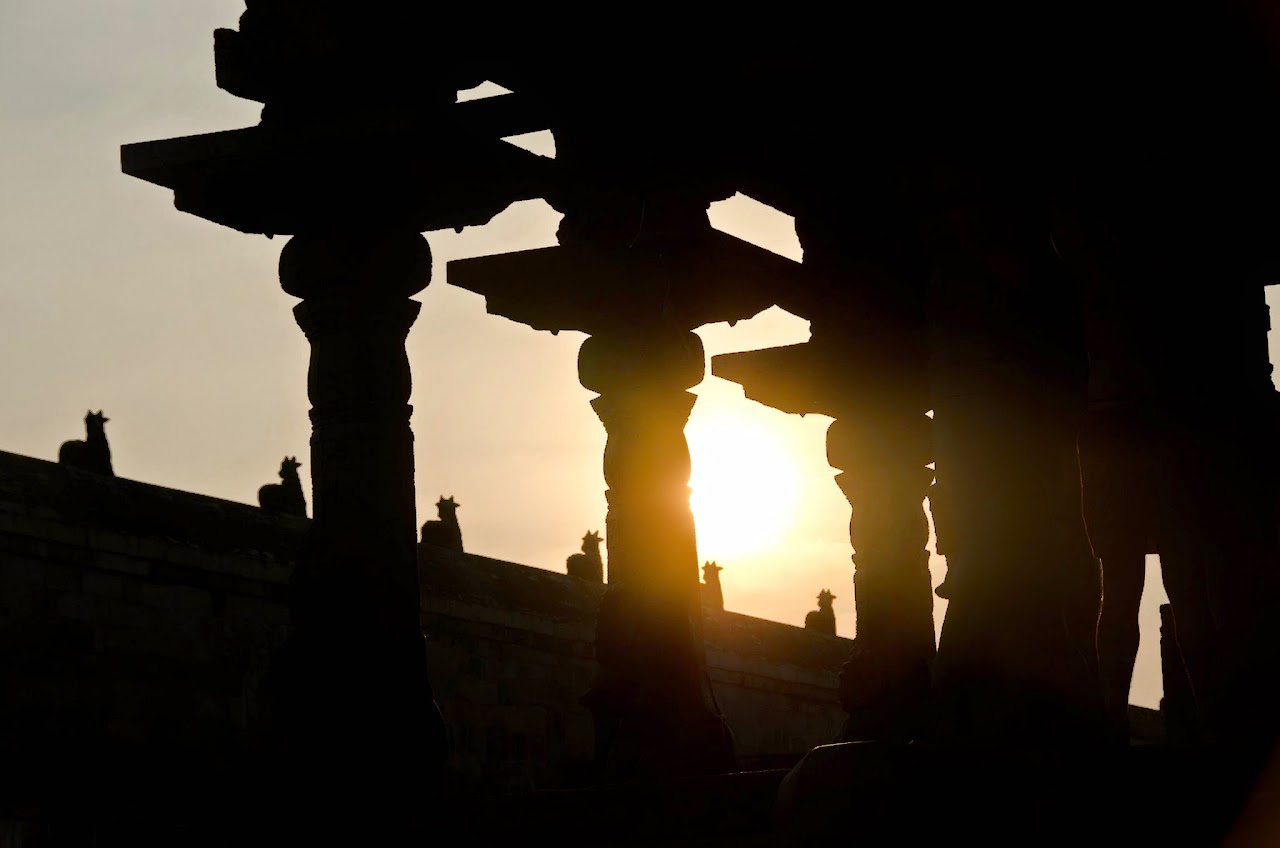 Airavateswara Temple sunset