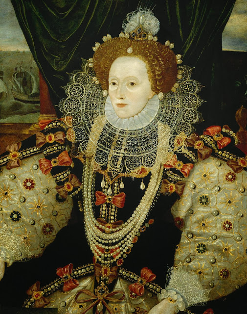 George Gower - The Armada portrait of Elizabeth I