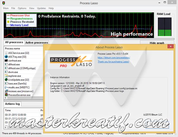 Process Lasso Pro 8