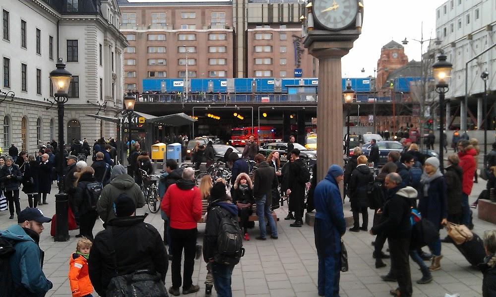 Larmet går på Stockholm C
