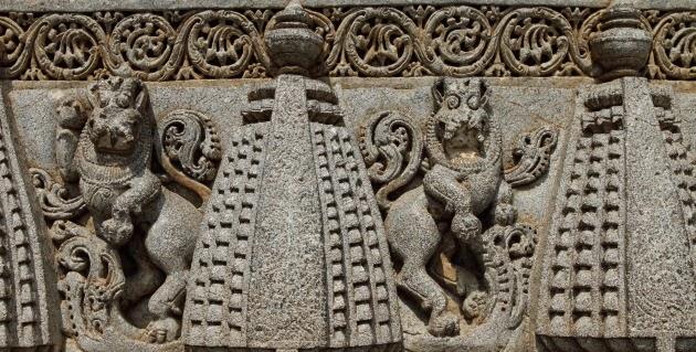 The emblem of the Hoysala Empire