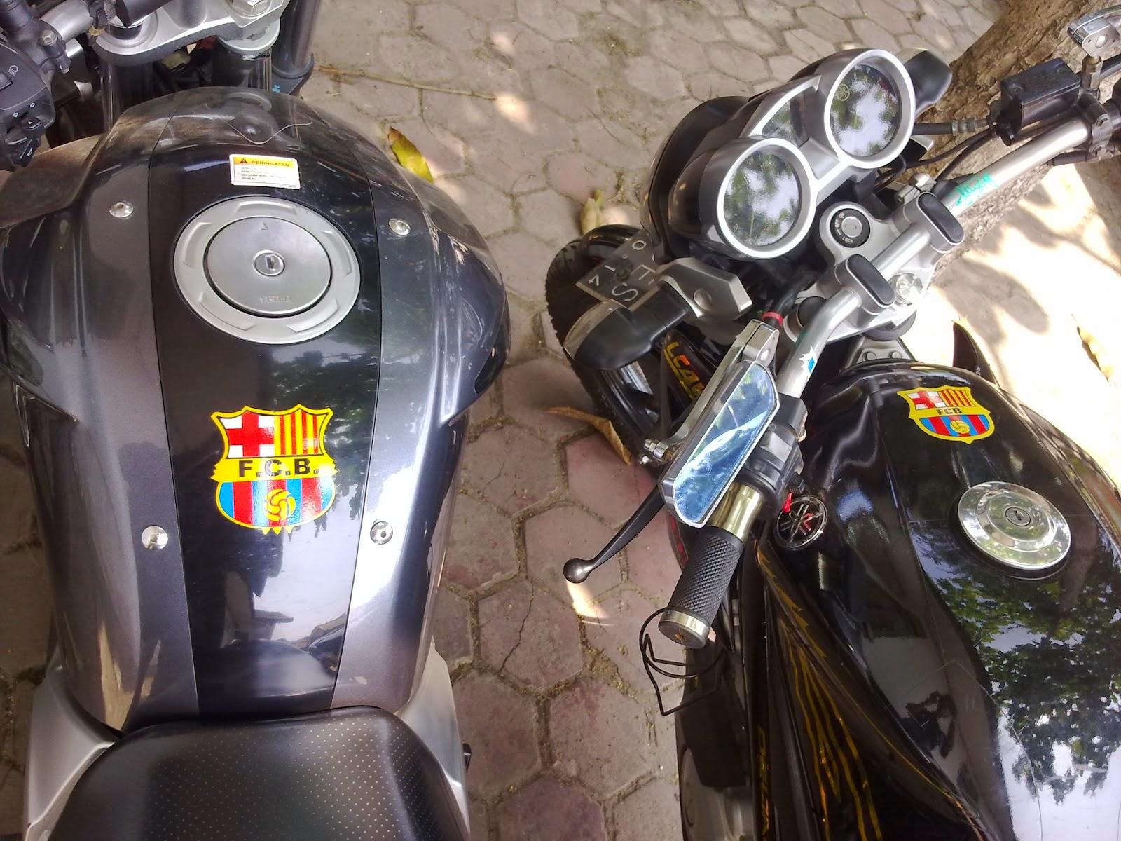 Gambar Modifikasi Yamaha Byson Pake Stang Jepit Pangeran Modifikasi