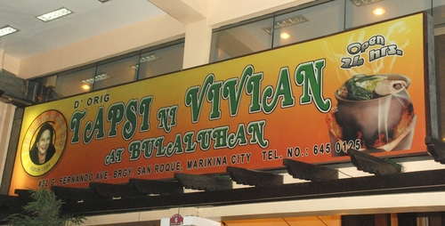 Tapsi ni Vivian at Bulaluhan