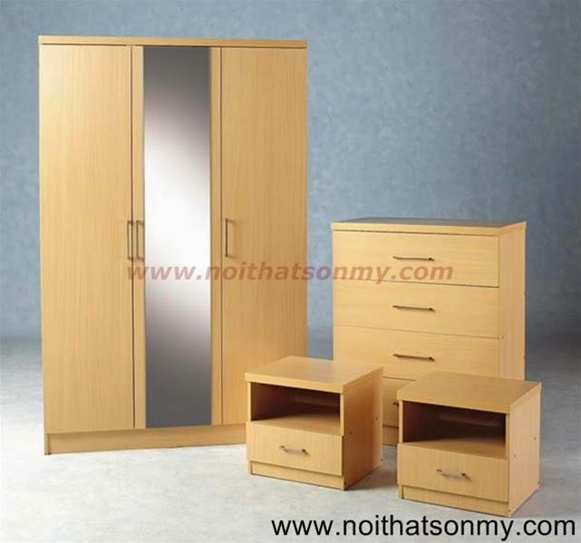 Tủ quần áo gỗ 08