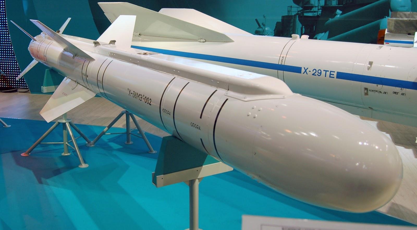 Fuerza Aérea de Rusia tiene nuevo misil de alta precisión
